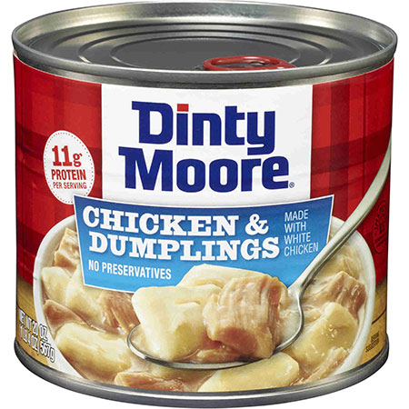 DINTY MOORE HEARTY MEALS<sup>&reg;</sup> Chicken &amp; Dumplings
