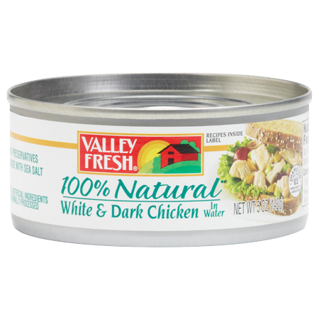 100% Natural White & Dark Chicken 5 oz. or 10 oz.