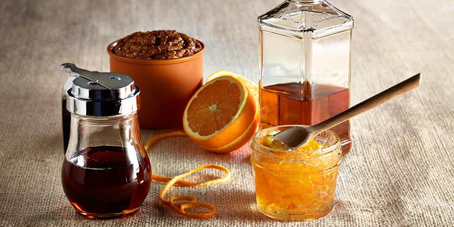 Orange Bourbon Glaze