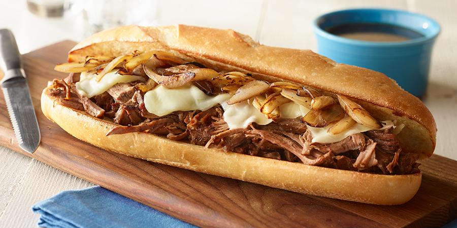 Resultado de imagen de french dip sandwich