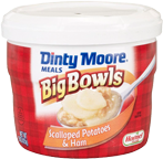 DINTY MOORE<sup>®</sup> Big Bowls Scalloped Potatoes & Ham