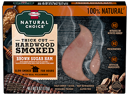 HORMEL® NATURAL CHOICE® Pecanwood Smoked Ham with Brown Sugar