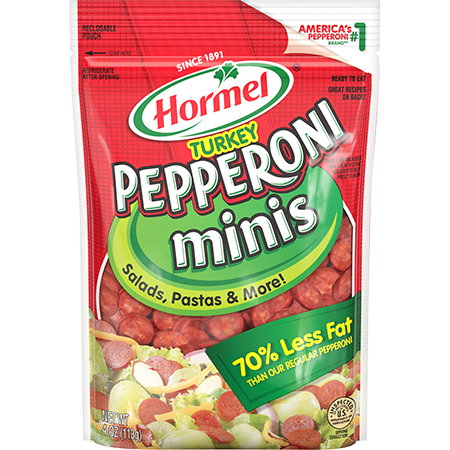 HORMEL<sup>®</sup> Pepperoni Turkey Minis