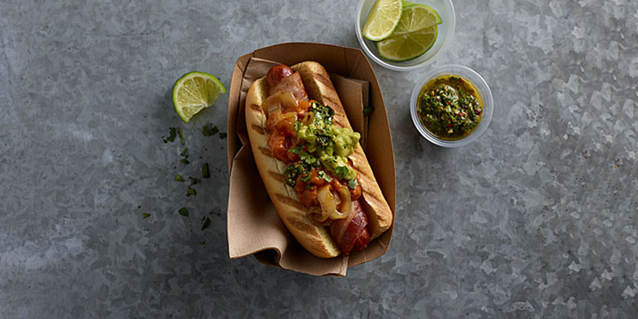 Green Dog Chili Dogs