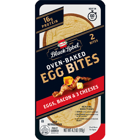 HORMEL™ BLACK LABEL™ Egg Bites with Bacon and three cheeses