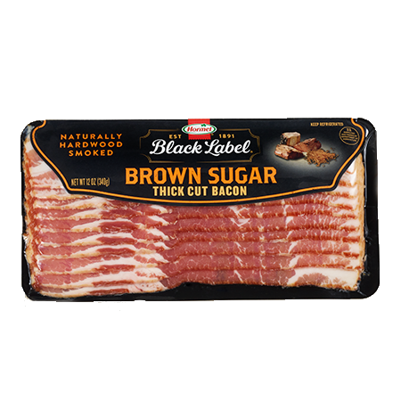 HORMEL<sup>®</sup> BLACK LABEL<sup>®</sup> Premium Brown Sugar Bacon