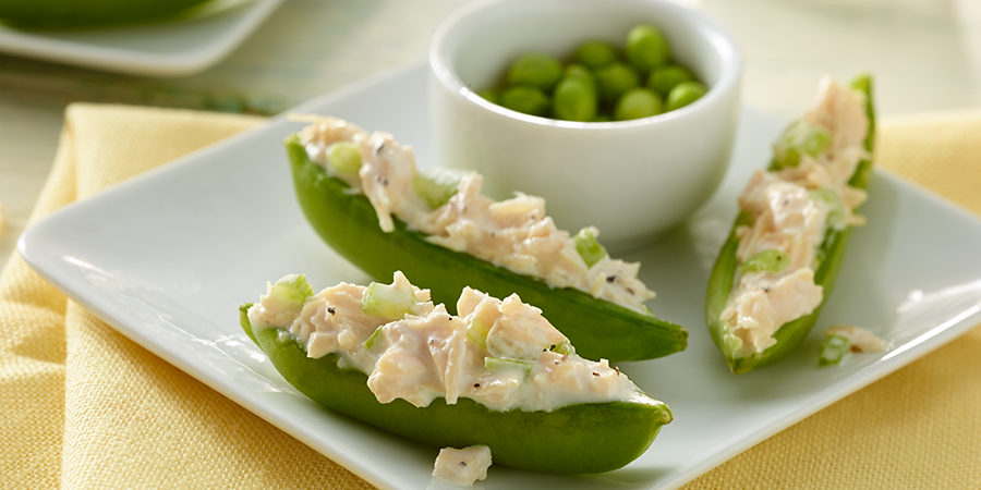 Snap Pea Chicken Salad