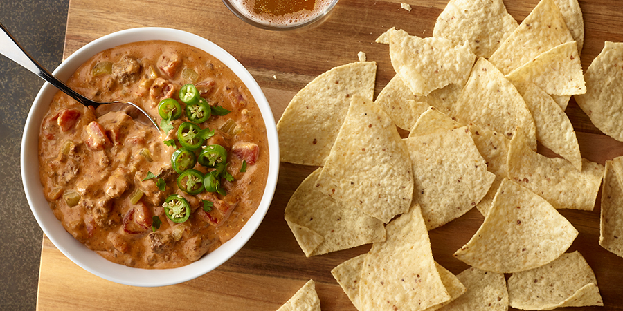 Zesty Chili Cheese Dip