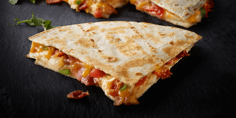 <strong>Chicken Bacon Ranch Quesadilla</strong>