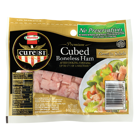 HORMEL<sup>®</sup> CURE 81<sup>®</sup> Cubed Ham