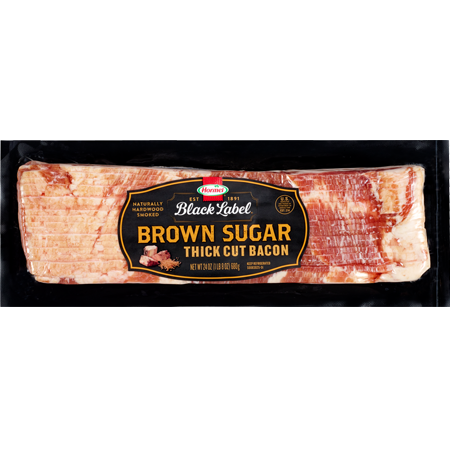 HORMEL<sup>®</sup> BLACK LABEL<sup>®</sup> Brown Sugar Bacon 24oz Stack Pack