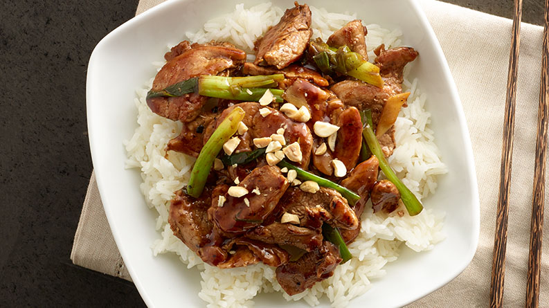 Stir-Fry Pork with Peanuts