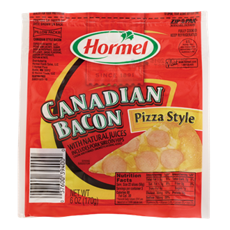 HORMEL<sup>&reg;</sup> PILLOW PACK<sup>&reg;</sup> Canadian Bacon