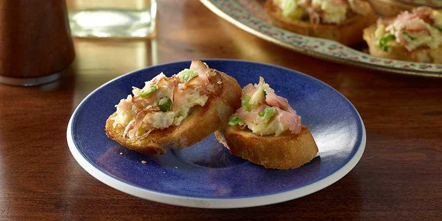 Ham and Parmesan Appetizers