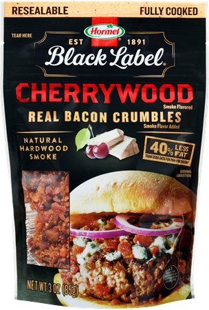 Black Label Cherrywood Flavored Bacon Crumbles