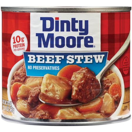 DINTY MOORE HEARTY MEALS<sup>&reg;</sup> Beef Stew