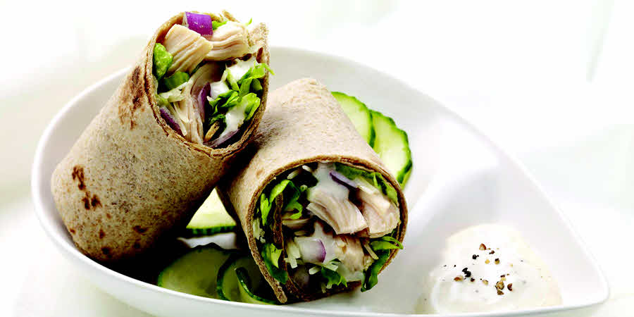 <strong>Ranch Chicken Wraps</strong>