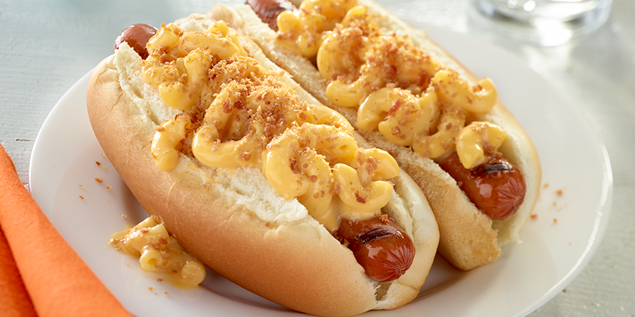 Mac N Cheese Dogs