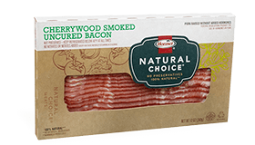 HORMEL<sup>®</sup> NATURAL CHOICE<sup>®</sup> Cherrywood Smoked Uncured Bacon