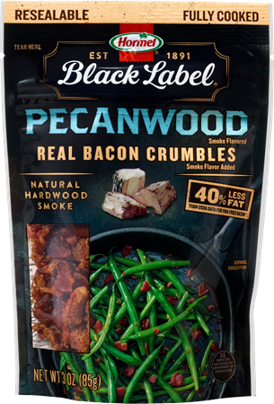 Black Label Pecanwood Flavored Bacon Crumbles