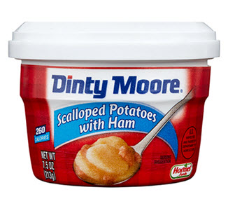 DINTY MOORE<sup>®</sup> Scalloped Potatoes with Ham