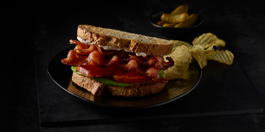 HORMEL® BLACK LABEL® Ranch Bacon BLT Sandwich