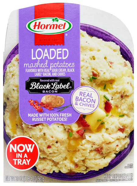 HORMEL<sup>®</sup> Loaded Mashed Potatoes