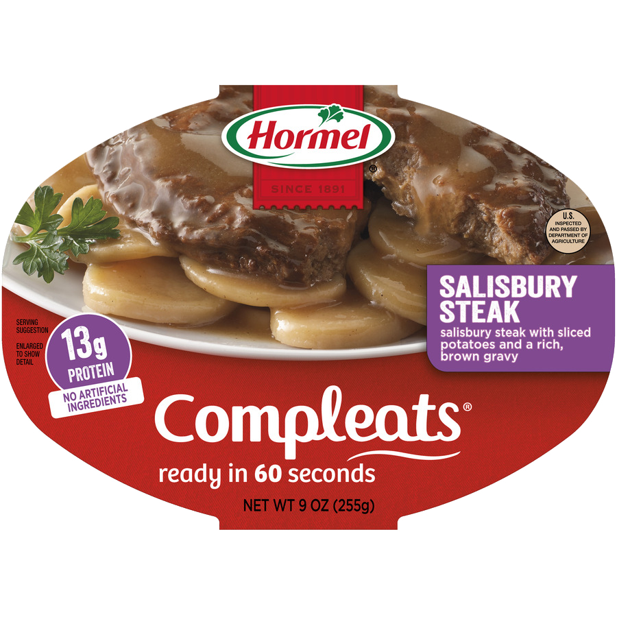 HORMEL<sup>®</sup> COMPLEATS<sup>®</sup> Salisbury Steak