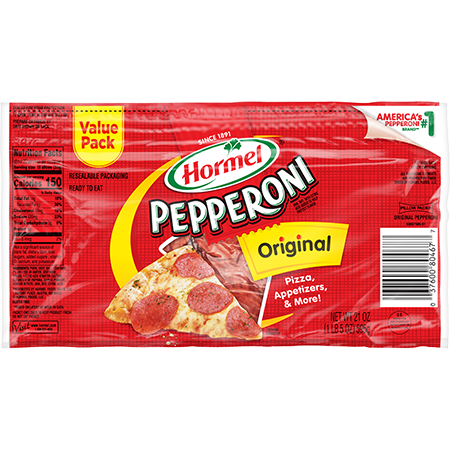 HORMEL<sup>®</sup> PILLOW PACK<sup>®</sup> Pepperoni 21oz.