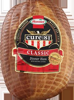 HORMEL<sup>®</sup> CURE 81<sup>®</sup> Classic Boneless Ham