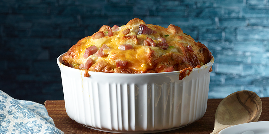 Ham-Egg and Cheese Monkey Bread