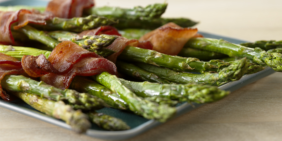 Bacon-Wrapped Asparagus