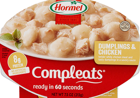 HORMEL<sup>®</sup> COMPLEATS<sup>®</sup> Dumplings & Chicken