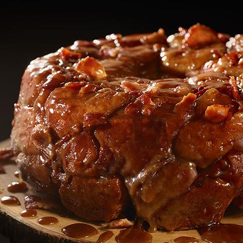 Maple Bacon Monkey Bread >