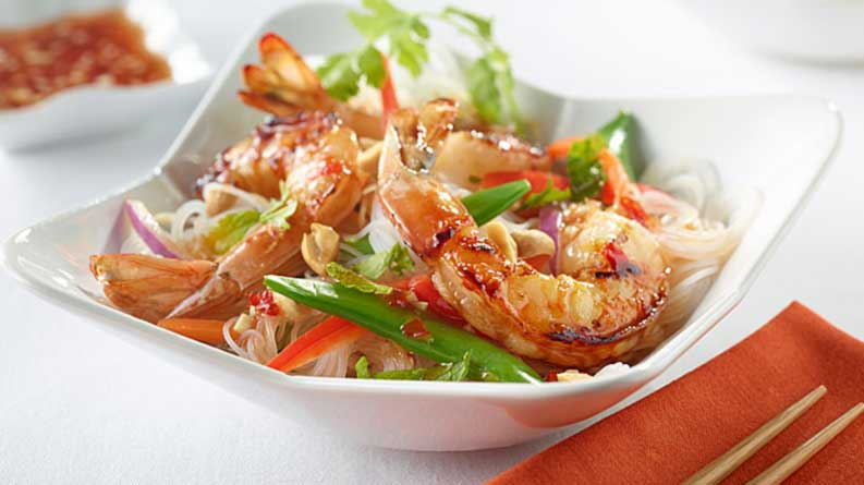 Shrimp & Noodle Salad