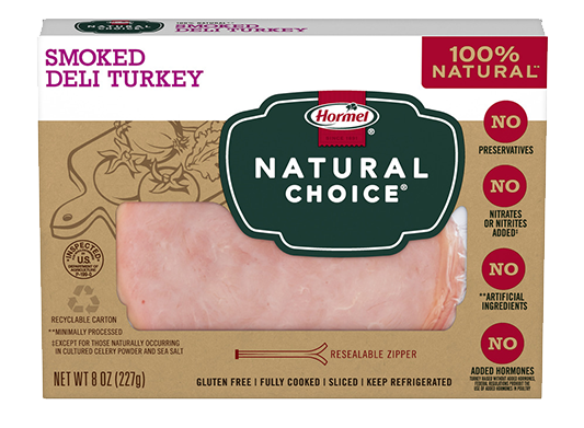 HORMEL<sup>®</sup> NATURAL CHOICE<sup>®</sup> Smoked Deli Turkey