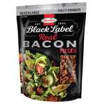 HORMEL<sup>&reg;</sup>&nbsp;BLACK LABEL<sup>&reg;</sup>&nbsp;Bacon Pieces Pouch