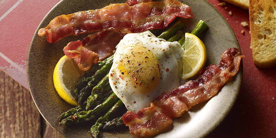 Bacon and Eggs Asparagus