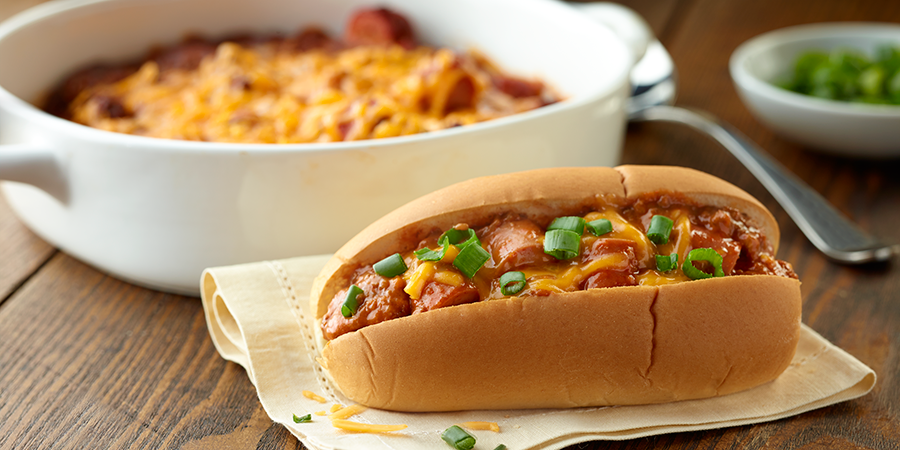 Chili Dog Bake