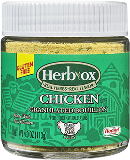 HERB-OX<sup>®</sup> Chicken Granulated Bouillon - 4 oz.