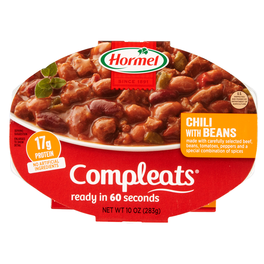 HORMEL<sup>&reg;</sup> COMPLEATS<sup>&reg;</sup> Chili with Beans