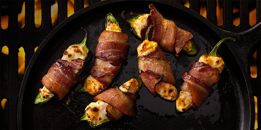 Pecanwood Bacon Wrapped Jalapeno Poppers