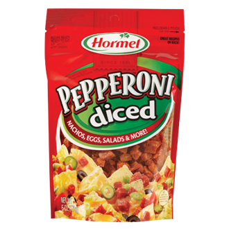 HORMEL<sup>&reg;</sup> PILLOW PACK<sup>&reg;</sup> Pepperoni - Diced