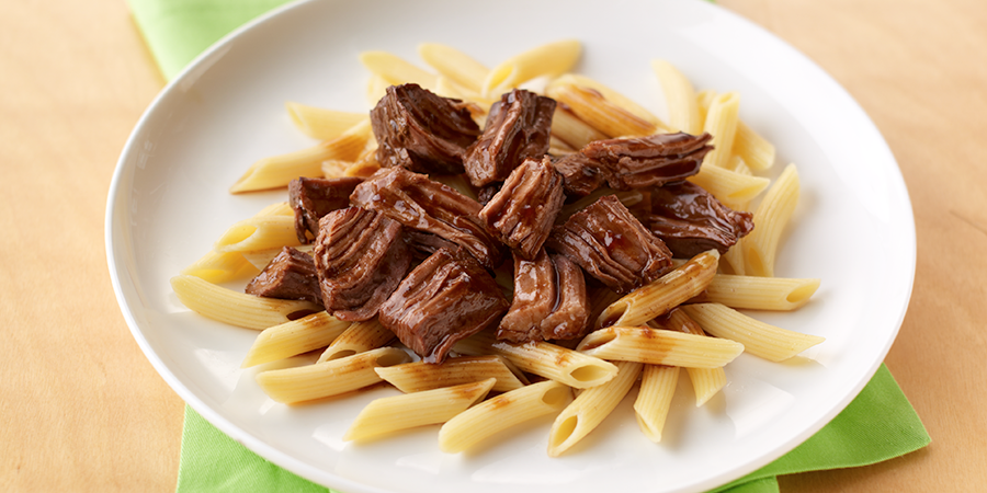 Beef Roast and Penne Pasta