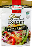 HORMEL<sup>&reg;</sup> Real Crumbled Bacon - Peppered