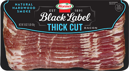 HORMEL<sup>®</sup> BLACK LABEL<sup>®</sup> Original Thick Cut Bacon