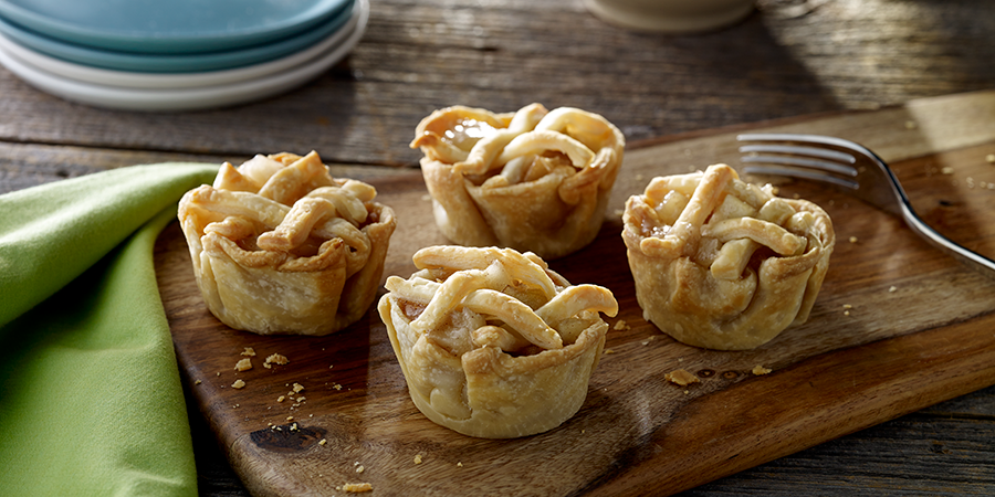 Mini Apple Cinnamon Pies