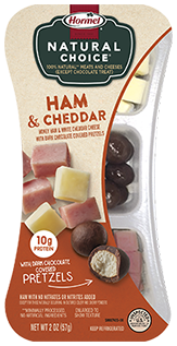 HORMEL<sup>™</sup> NATURAL CHOICE<sup>®</sup> SNACKS Ham & Cheddar