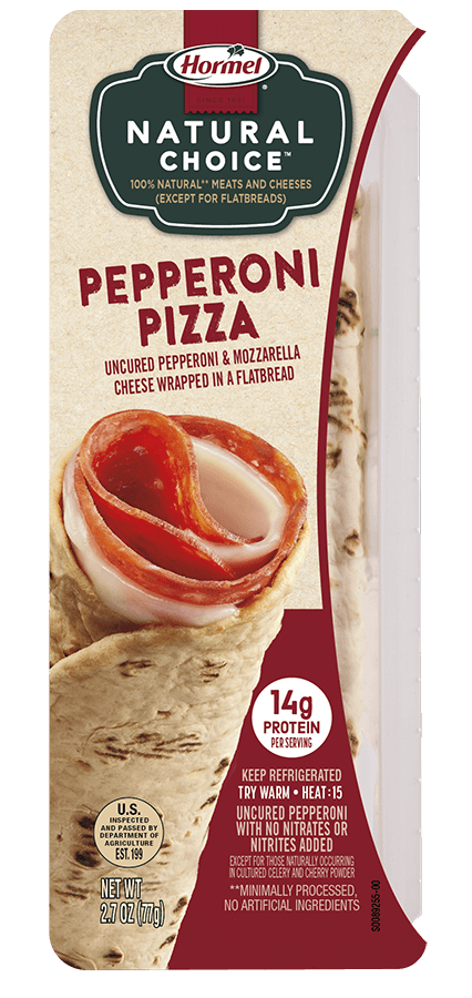 HORMEL<sup>&reg;</sup> NATURAL&nbsp;CHOICE<sup>&trade;</sup> WRAPS&nbsp;Pepperoni Pizza