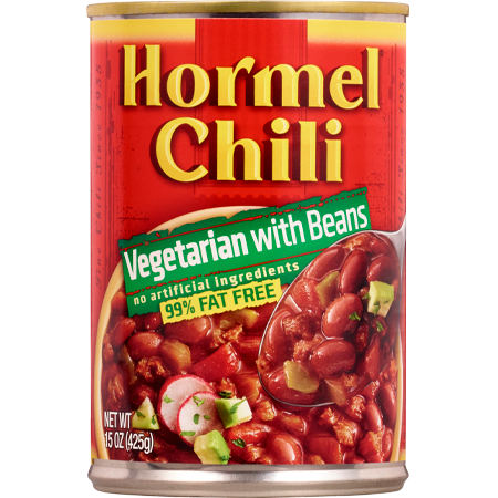HORMEL<sup>®</sup> Chili Vegetarian with Beans